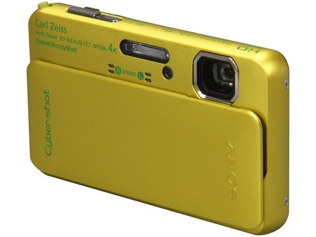 SONY DSCTX10/G Green 16.2 MP Waterproof Shockproof 25mm Wide Angle Digital Camera
