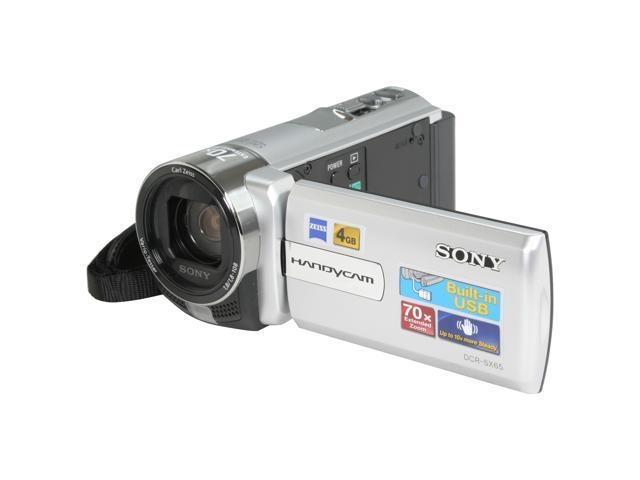 SONY DCRSX65/S Silver CCD 3.0