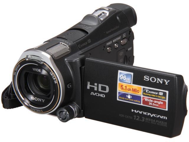 SONY HDRCX700V Black 1/2.88