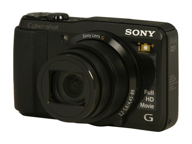 SONY DSCHX30V/B Black 18.2 MP Digital Camera