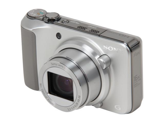 SONY Cyber-shot DSC-HX10V Silver 18 MP Wide Angle Digital Camera