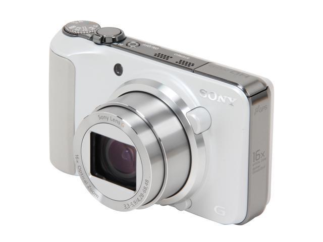 SONY Cyber-shot DSC-HX10V/W White 18 MP Digital Camera