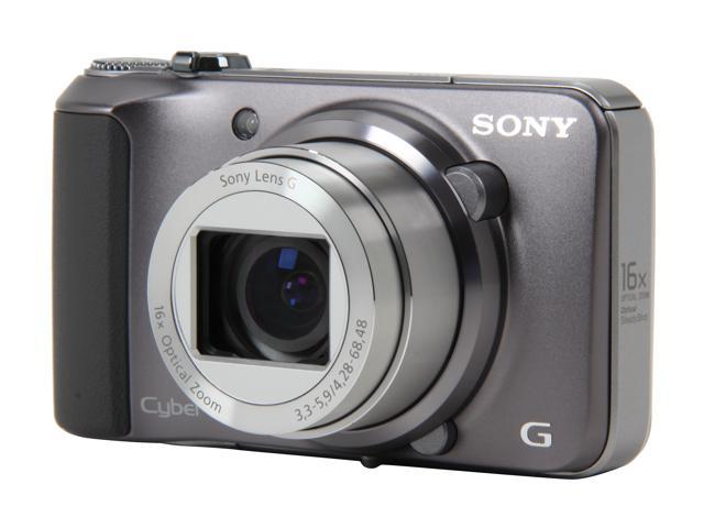 SONY Cyber-shot DSC-H90 Silver 16.1 MP 16X Optical Zoom Digital Camera