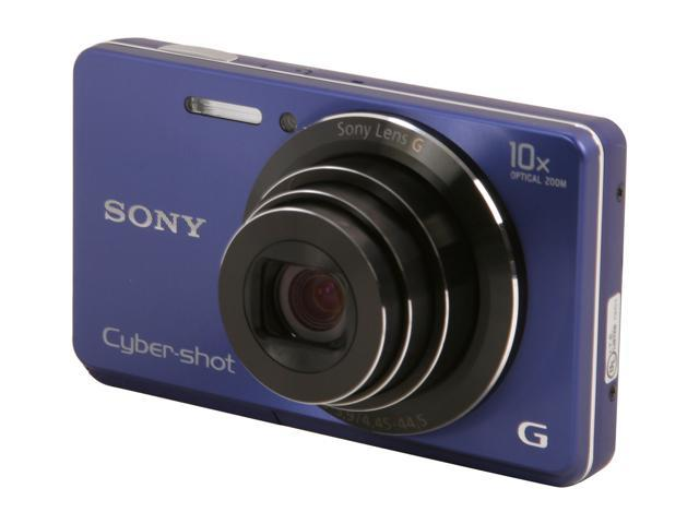 SONY Cyber-shot DSC-W690/L Blue 16.1 MP 10X Optical Zoom Digital Camera