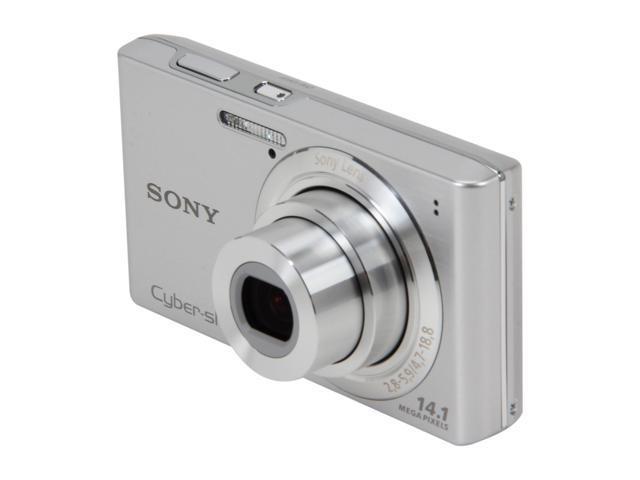 SONY Cyber-shot DSC-W610 Silver 14.1 MP Digital Camera