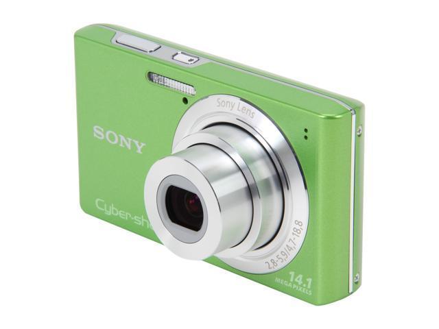 SONY Cyber-shot DSC-W610/G Green 14.1 MP Digital Camera