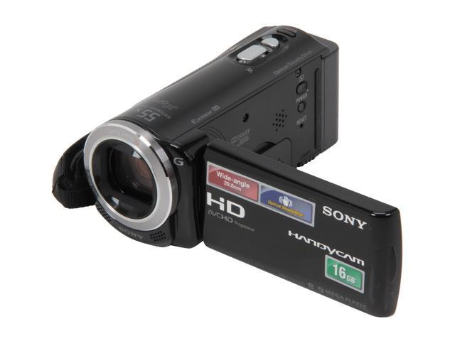 SONY HDR-CX260V/B Black Full HD Flash Memory Camcorder