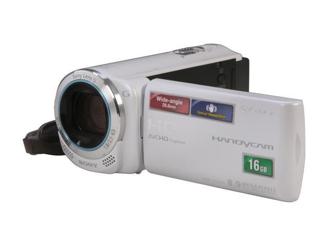 SONY HDR-CX260V/W White Full HD Flash Memory Camcorder