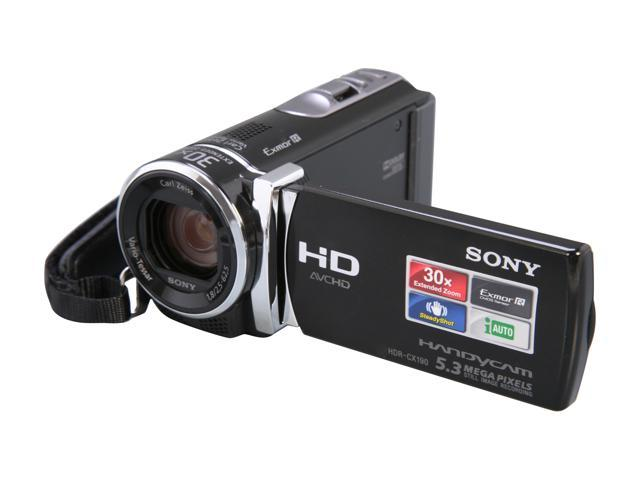 SONY HDR-CX190/B Black Full HD Camcorder