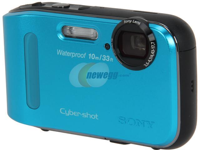 Sony Cyber-shot TF1 DSC-TF1/L Blue 16.1MP 2.7