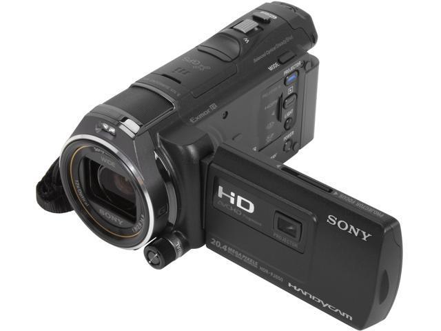 SONY HDR-PJ650V Black 1/3.9