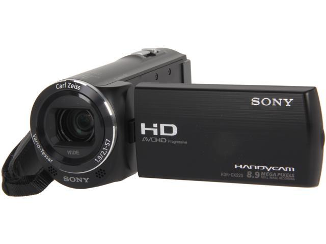 SONY HDR-CX220/B HDR-CX220/R Black 1/5.8