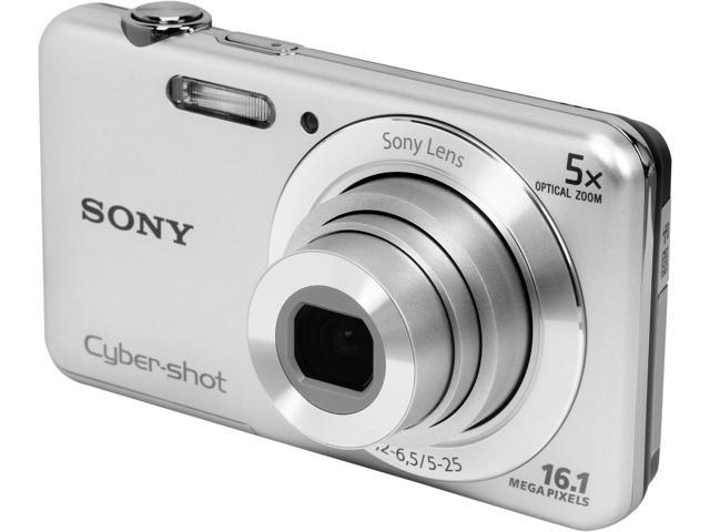 Sony Cyber-shot DSC-W710 16.1MP Digital Camera (Silver)