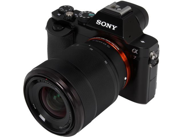 SONY Alpha a7 ILCE-7K/B Black Interchangeable Lens Camera with FE 28-70mm f/3.5-5.6 OSS Lens