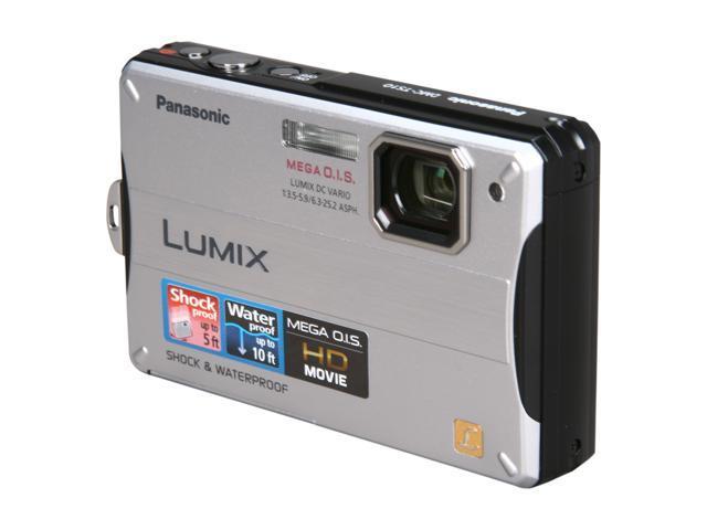 Panasonic DMC-TS10 Silver 14.1MP Waterproof Shockproof Digital Camera