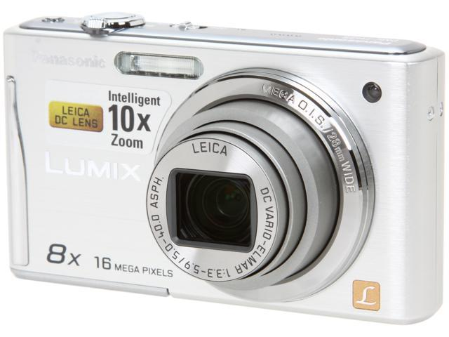 Panasonic DMC-FH25S Silver 16.1 MP 28mm Wide Angle Digital Camera