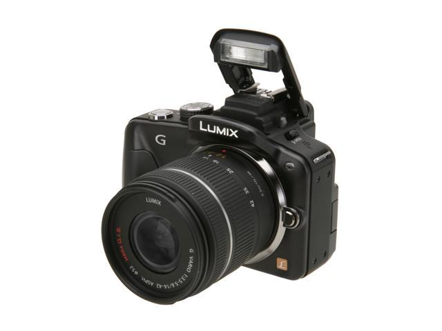 Panasonic DMC-G3KK Black 16.3 MP Digital SLR Camera w/ 14-42mm Lens Kit