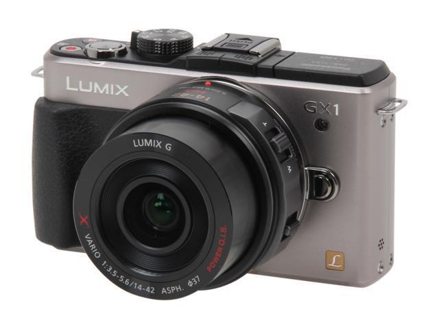 Panasonic DMC-GX1XS Silver Digital Interchangeable Lens System Camera w/ 14-22mm Lens