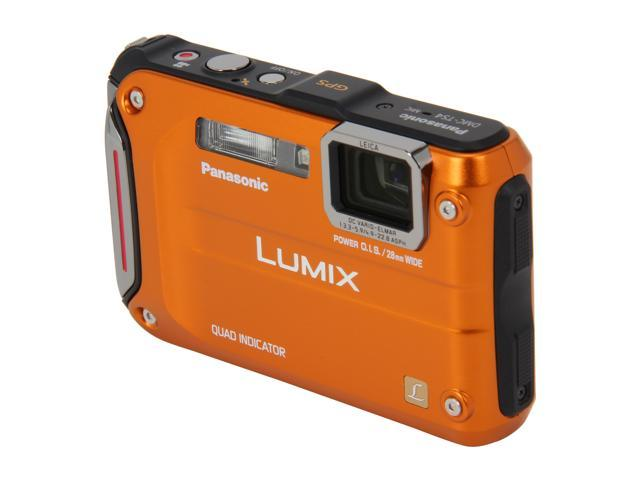 Panasonic LUMIX DMC-TS4D Orange 12.1 MP 2.7