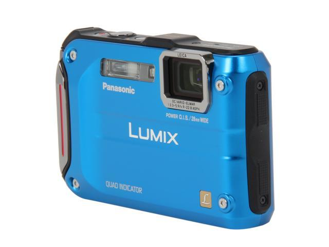 "Panasonic LUMIX DMC-TS4A Blue 12.1 MP 2.7"" 230K Action Camera"