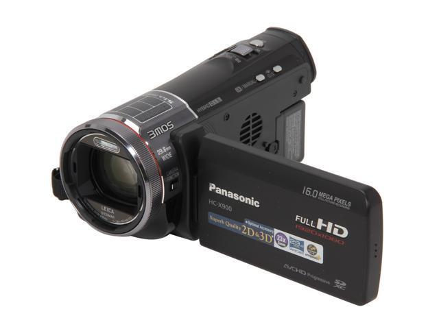 Panasonic HC-X900K Black High Definition Camcorder