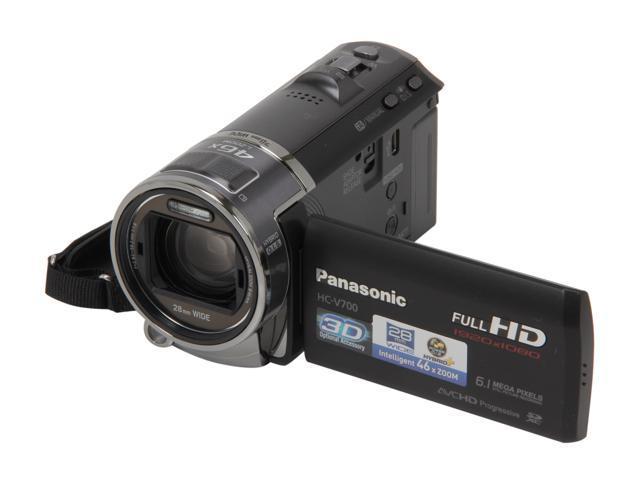 Panasonic HC-V700K Black&Silver Full HD Camcorder