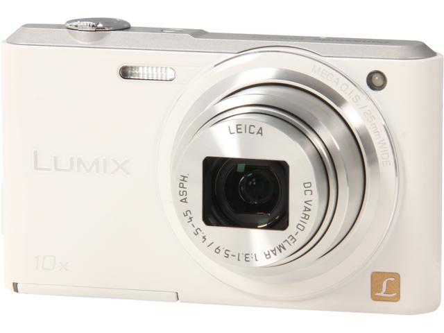 Panasonic LUMIX DMC-SZ3W White 16.1 MP 10X Optical Zoom Digital Camera