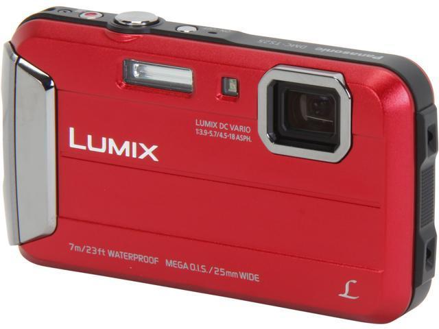 Panasonic LUMIX TS25 DMC-TS25R Red 16.1 MP 2.7