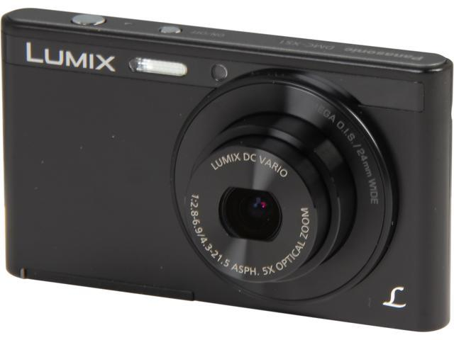 Panasonic LUMIX DMC-XS1K Black 16.1 MP 5X Optical Zoom Digital Camera