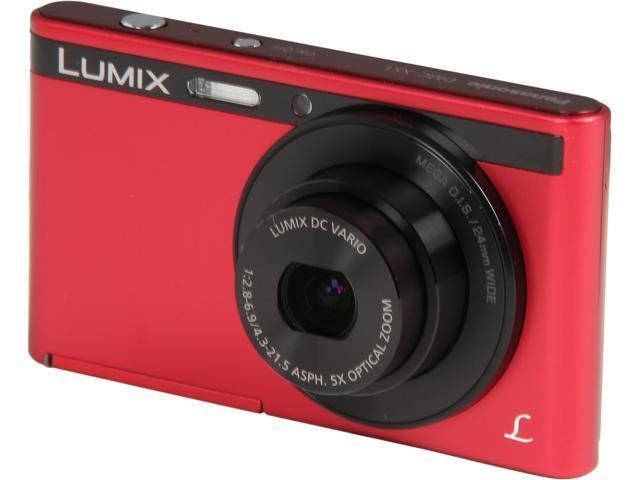 Panasonic LUMIX DMC-XS1R Red 16.1 MP Digital Camera