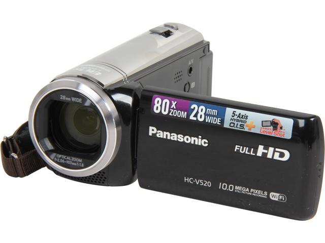 Panasonic HC-V520K Black 1/5.8