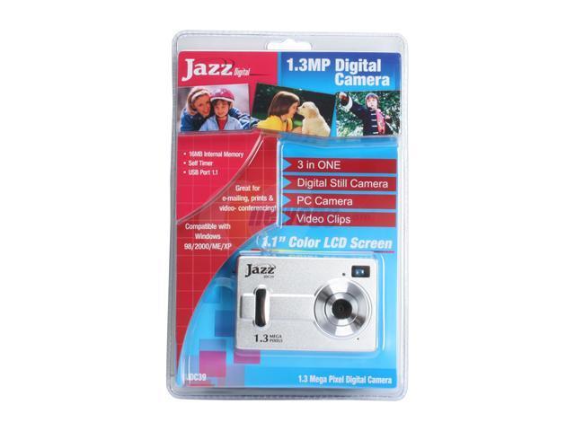 JAZZ JDC-39 Silver 1.3 MP Digital Camera