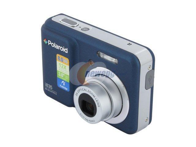Polaroid i835 Blue 8.0 MP 3X Optical Zoom Digital Camera