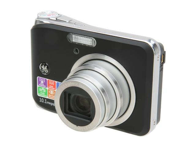 GE W1000 Black 10.1 MP Digital Camera