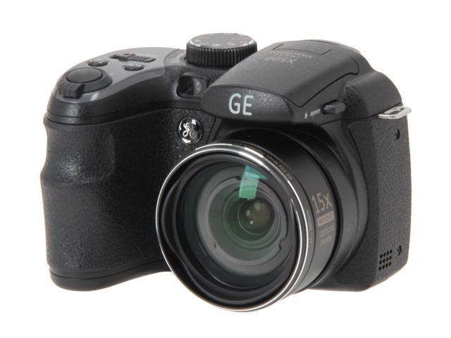 GE Power Pro X500-BK 16 MP with 15 x Optical Zoom Digital Camera