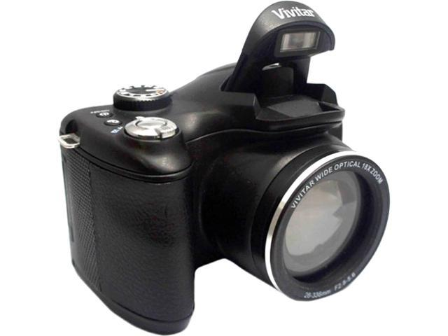 Vivitar ViviCam S1527 16.1 Megapixel Compact Camera - Black