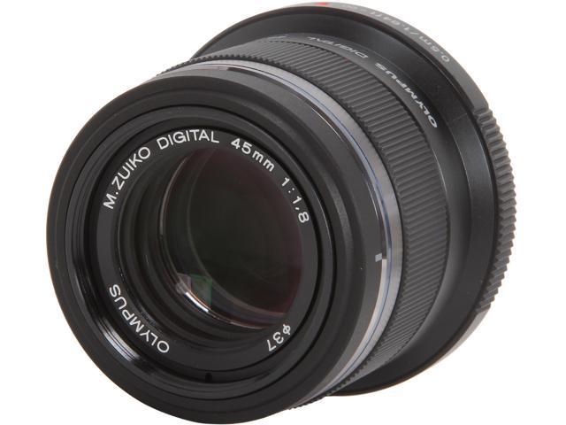 OLYMPUS V311030BU000 M.Zuiko Digital 45mm f1.8 Lens Black