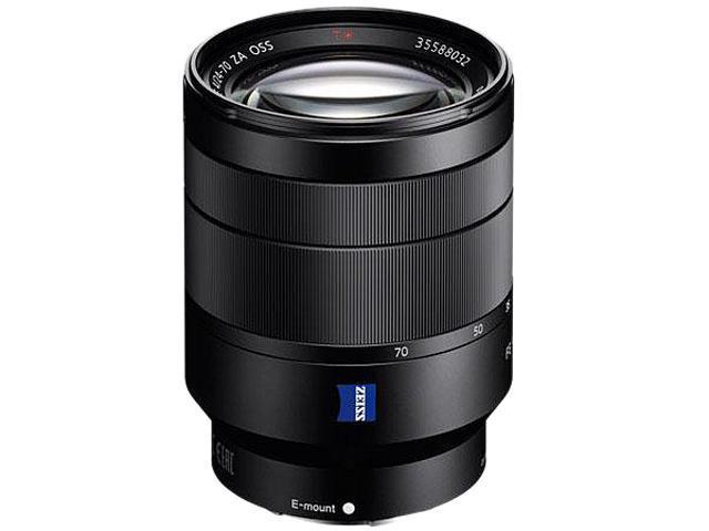 SONY SEL2470Z Vario-Tessar T FE 24-70mm F4 ZA OSS Lens Black