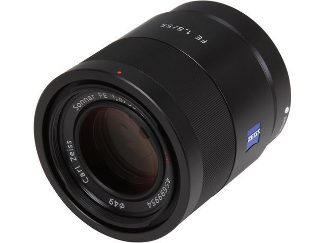 SONY SEL55F18Z Sonnar T FE 55mm F1.8 ZA Lens Black