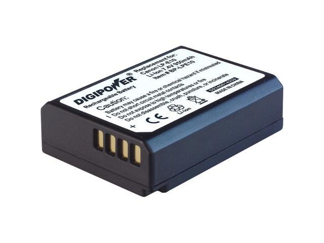 DigiPower BP-LPE10 Digital Camera Battery, Replacement for Canon LP-E10 Battery Pack