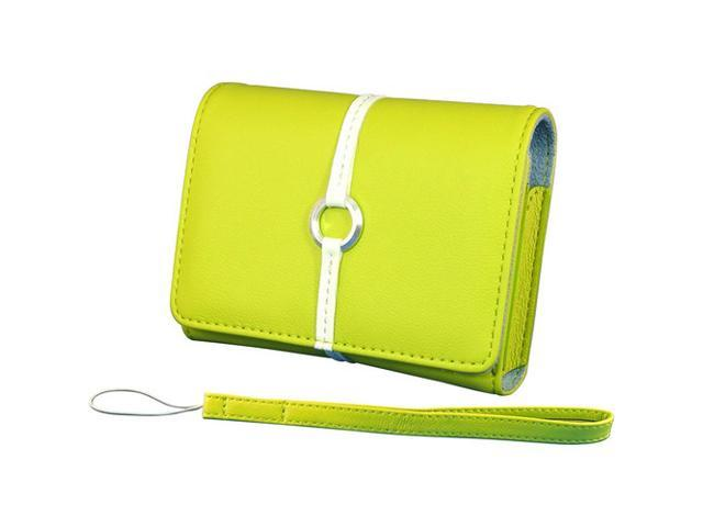 Norazza AC12176 Chartreuse Digital Accessory Clutch