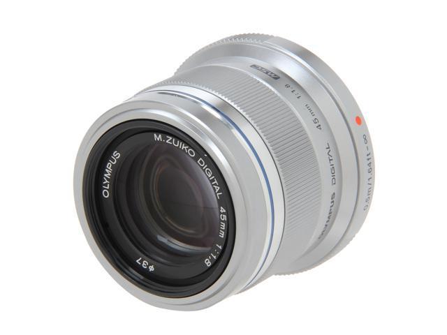 OLYMPUS V311030SU000 Compact ILC Lenses M. Zuiko Digital ED 45mm f1.8 Lens Silver