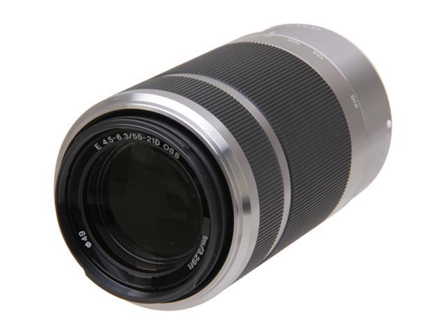 SONY SEL55210 Compact ILC Lenses 55-210mm Zoom Lens Silver