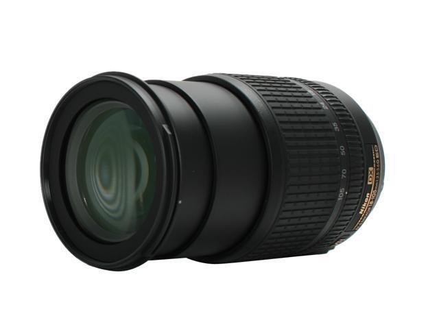 Nikon 2179 AF-S DX NIKKOR 18-105mm f/3.5-5.6G ED VR Lens - USA WARRANTY (WHITE BOX) Black