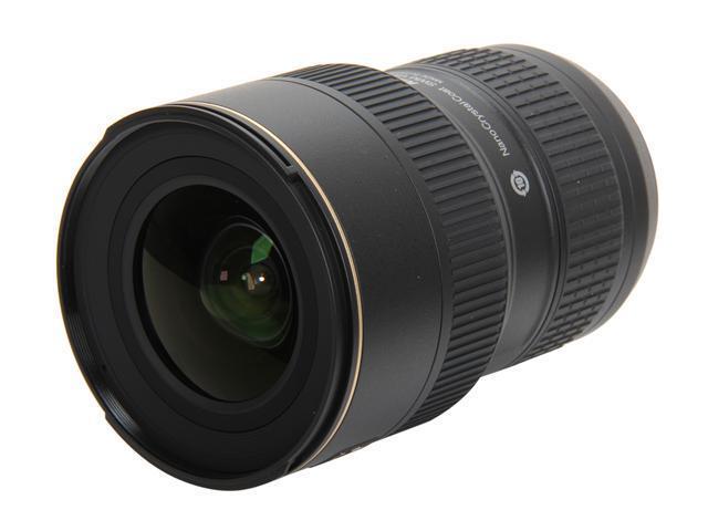 Nikon 2182 16-35mm F4G ED VR Lens Black