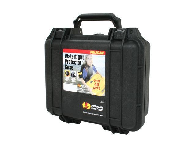 PELICAN 1200-000-110 SLR Camera Bags & Cases Black Digital Camera Cases