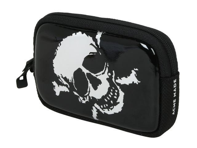 Acme Made AM00770-CEU Cool Little Case Silver Skull Camera Case