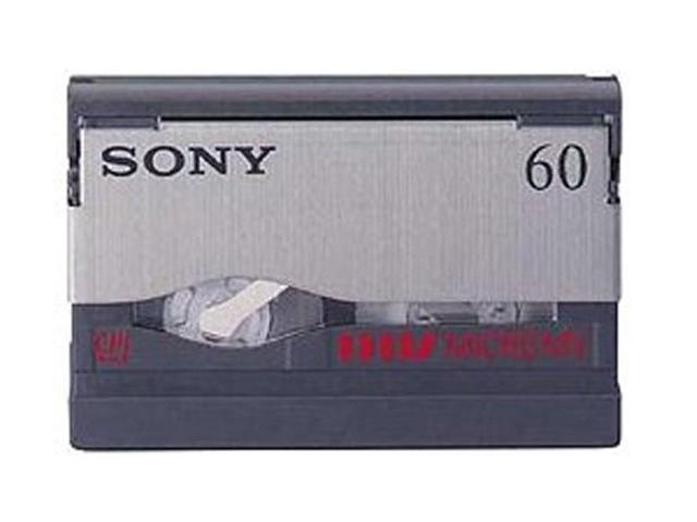 SONY MGR60 MICROMV 60 Minute Tapes with Chip