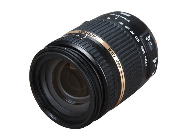 TAMRON AFB008C700 (B008) 18-270mm/F3.5-6.3 Di II VC PZD Lens For Canon Black