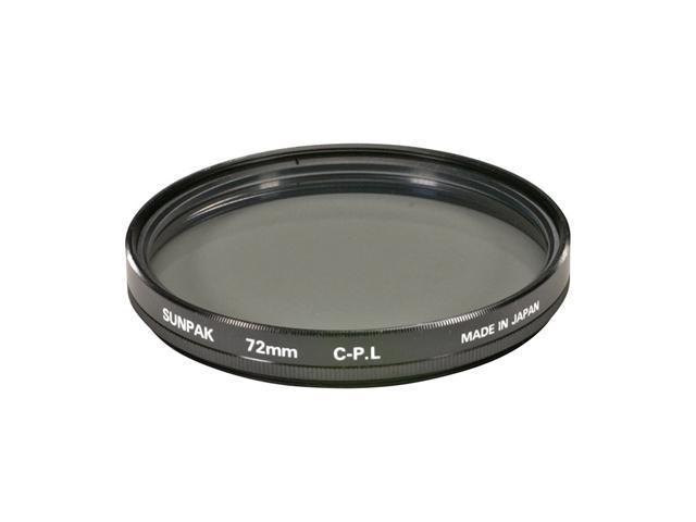 SUNPAK CF-7062 72mm Circular Polarized Filter